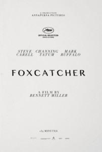 foxcatcher unofficial poster