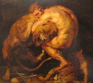 Painted by Pieter Paul Rubens
